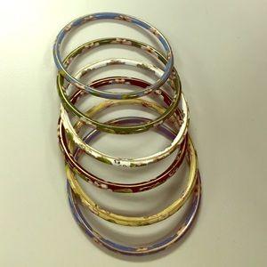 Jewelry - Vintage Cloisonné Bangle Set