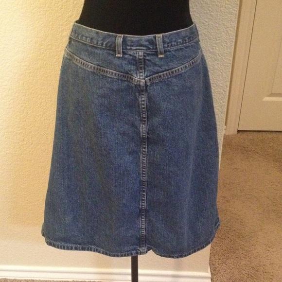 74% off Eddie Bauer Dresses & Skirts - Eddie Bauer Classic Jean A ...