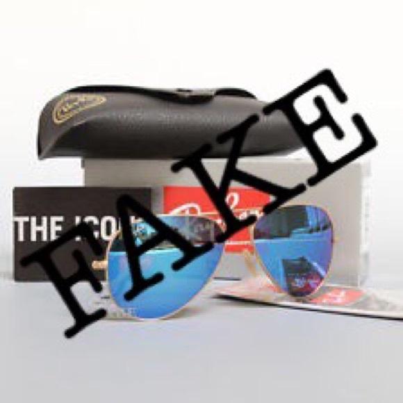 ray ban sunglasses original vs fake