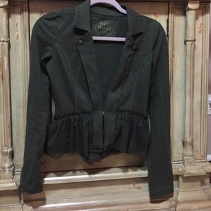 Green Jacket by MUDD. Size XS. Offers are accepted