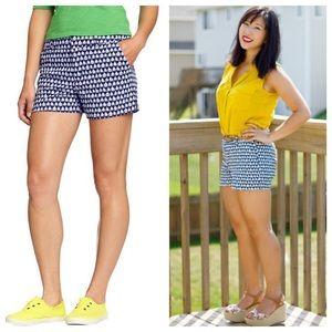 Sailboat print shorts