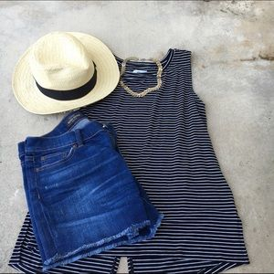  Old Navy Striped Tank NWT