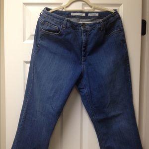 Denim jeans by Jones New York - Like new!