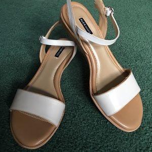 Alex Marie Shoes - Alex Marie cream and beige sandals. New in box.