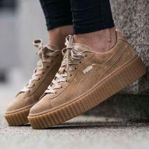 Puma Shoes | Oatmeal Puma Creepers