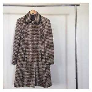 Vintage Plaid Coach Coat