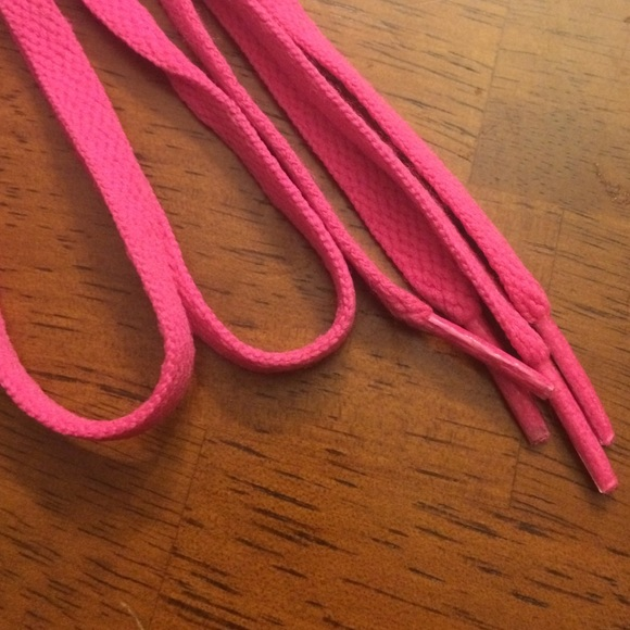 pink shoe laces one size from s closet on poshmark