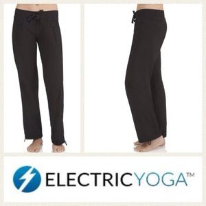 Electric Yoga Pants - NEW!  Electric Yoga drawstring pants in black