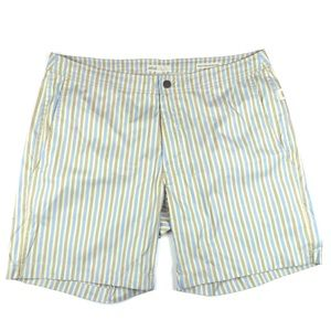 Onia Other - ONIA Calder Men's Striped Swim Trunks Shorts