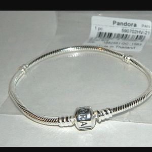 Pandora Jewelry - Pandora barrel clasp bracelet in box  PICK A SIZE