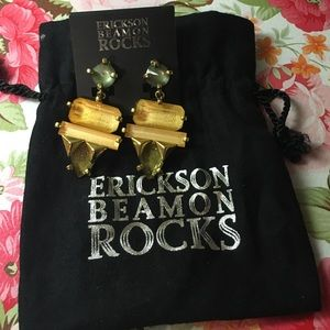 Erickson Beamon Jewelry - Ericsson Beamon Rocks Clip On Earrings