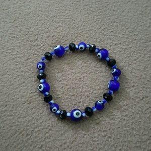 Evil eye stretch bracelet