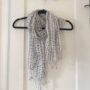 Accessories - Anchor print scarf