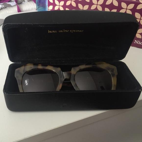 c0552dcefe7 Karen Walker Number One Tortoise Sunglasses