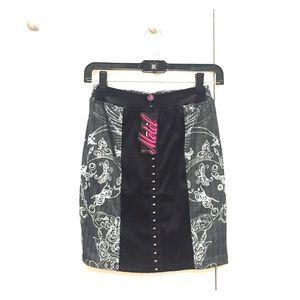 Motel Rocks Mini Skirt NWT