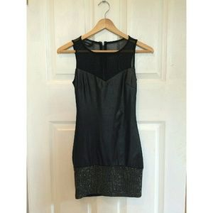 bebe Dresses & Skirts - Bebe Black Mini Dress XXS