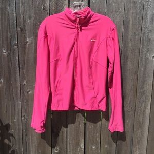 Pink Nike Jacket Size Medium