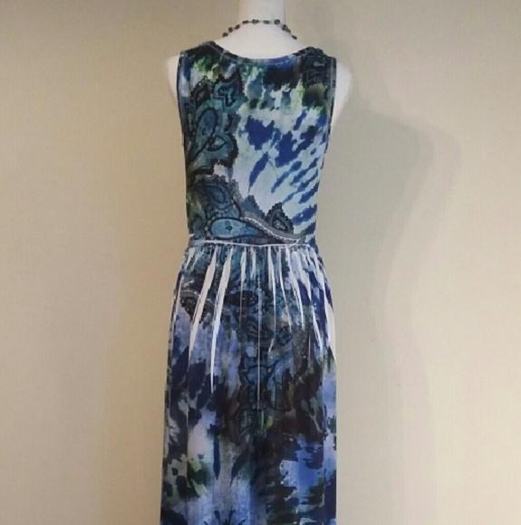 Off Ab Studio Dresses Skirts Nwt Ab Studio Blue Green