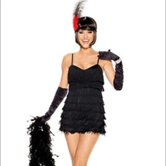 fredericks of hollywood flapper costume