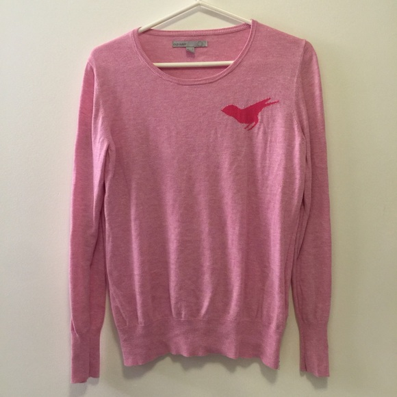 Old Navy - Pink Bird Silhouette Sweater from Devin's closet on ...