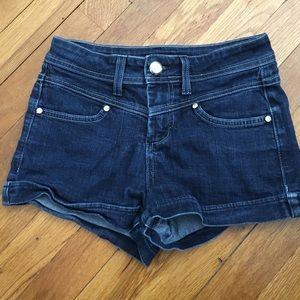 Bebe high waisted Jean shorts size 25 SALE!!