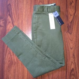 Banana Republic Pants - Banana Republic Green City Chino Pants