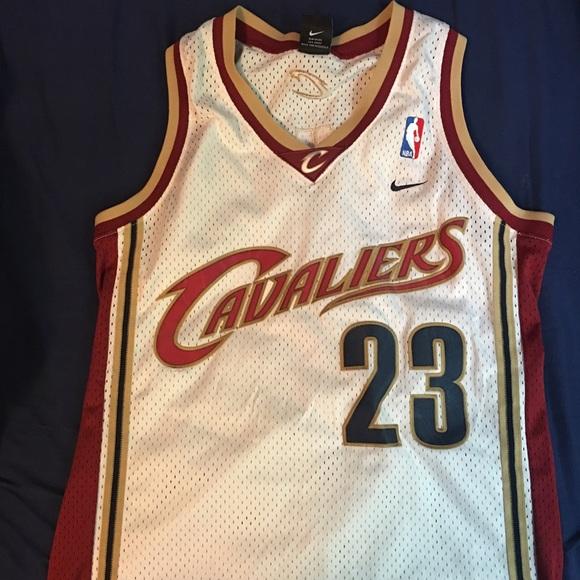 sale retailer 4c9c7 e8f37 LeBron James Vintage Cavaliers Authentic Jersey