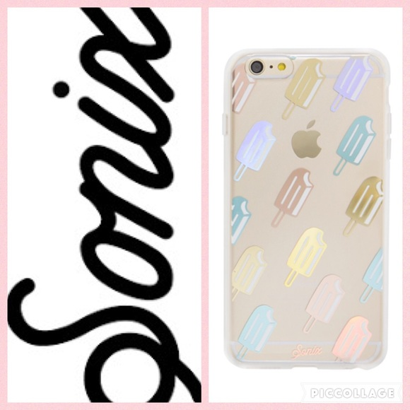 cheap for discount 5af67 b9105 Sonix Popsicle Clear Coat Case/iPhone 6+ NWT