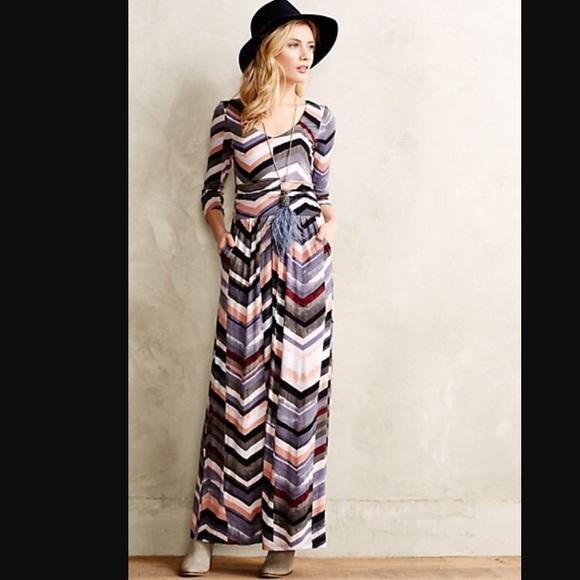 Anthropologie maxi dress sale