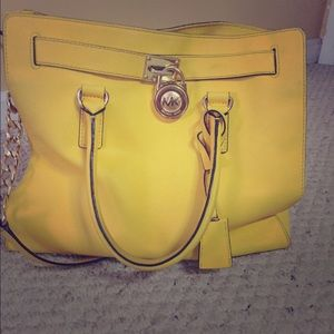 Michael Kors yellow Hamilton