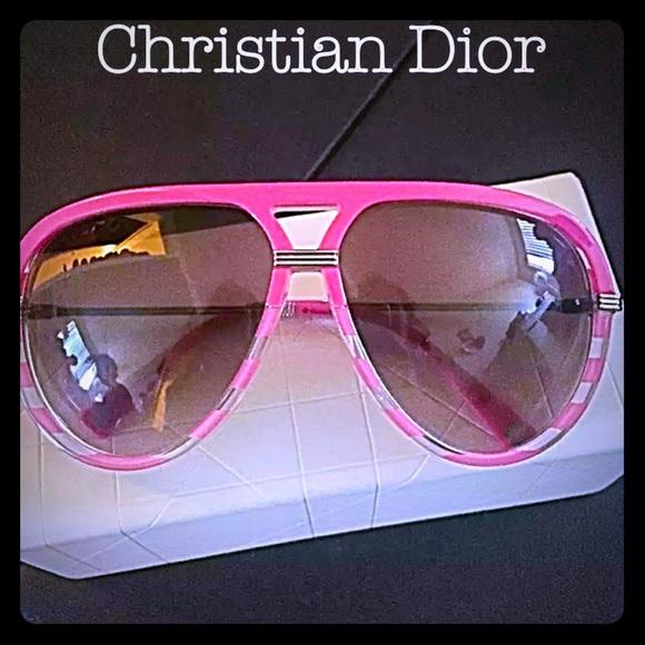 30ecf4b9fe21 Christian Dior Croisette 2 aviator sunglasses pink