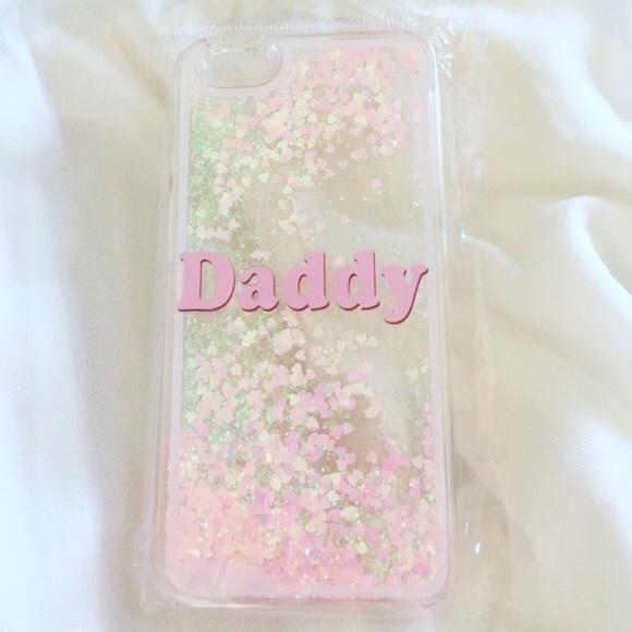 702cf169 Accessories | Daddy Glitter Iphone Case | Poshmark