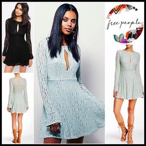 Free People Dresses & Skirts - ❗️1-HOUR SALE❗️FREE PEOPLE DRESS Lace Mini