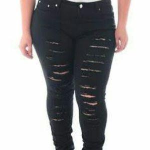 BQB  Denim - 💚💓New Distressed SkinnyJeans