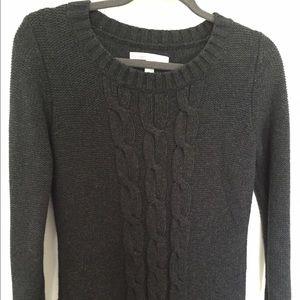 Dark Charcoal Grey Sweater