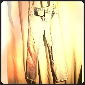 Vintage 501 Levis High Waisted Jeans