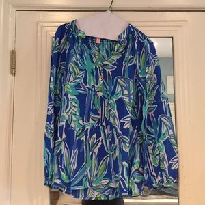 Lilly Pulitzer Tops - NWT Lilly Pulitzer blue/green top