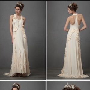 67 off anthropologie dresses skirts bhldn for Anthropologie beholden wedding dress