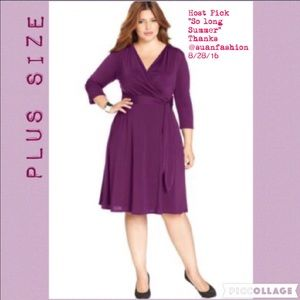 NY Collection Dresses & Skirts - 🎉2x Host Pick🎉NY Collection Plus Dress!NWT