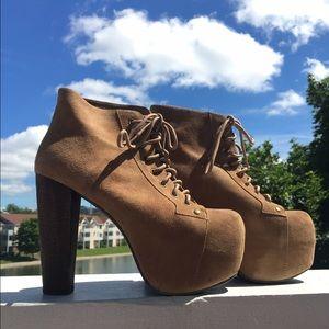 Jeffrey Campbell Lita Platform Boot - Taupe