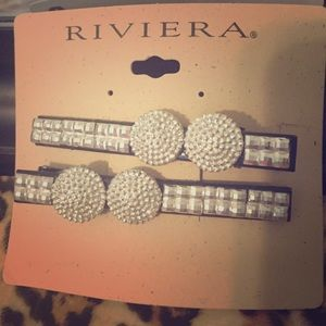 Riviera Accessories - Blig hair clips