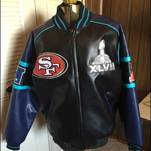 half off abdb0 ce37f San Francisco 49ers Super Bowl Jacket