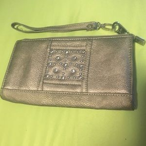 Rustic Couture clutch wallet