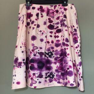 Calvin Klein Dresses & Skirts - Calvin Klein Silk Floral Tye Dye Print Skirt