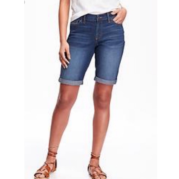 American Rag Jeans - Adorable Denim Walking Shorts Cutoffs Blue Jeans 1