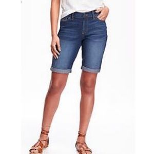Adorable Denim Walking Shorts Cutoffs Blue Jeans 1