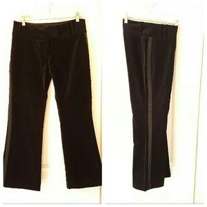 ABS velvet Tuxedo pants