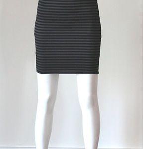 Pleasure Doing Business Dresses & Skirts - Pleasure Doing Business 4 Band Striped Mini
