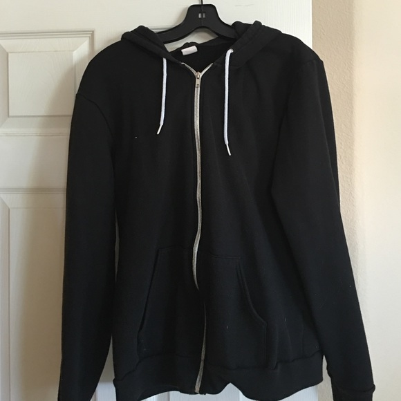 2d7e45d7754 American Apparel Tops - Black American Apparel zip up hoodie