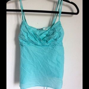 Tops - Turquoise tank top